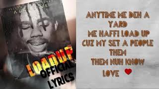 Load up alkaline lyrics clean video