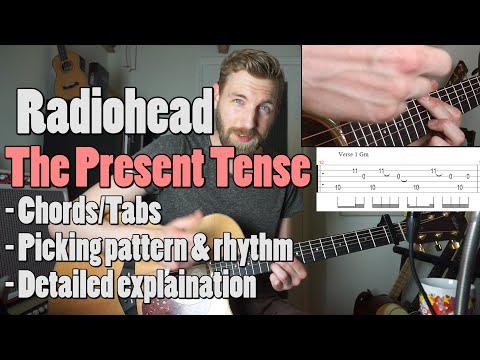 Radiohead - The Present Tense | Guitar Tutorial + tab | guitar cover |
