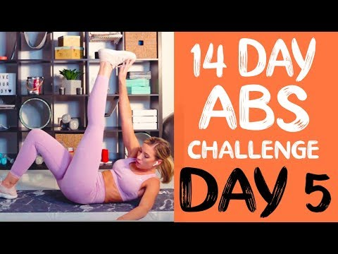 14 DAY ABS CHALLENGE | Workout 5 | Home Abs Burner