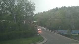 Bad thunderstorm Hits Palmer MA