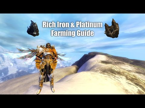 [GW2] Daily Iron & Platinum Farming Guide (Permanent Rich No