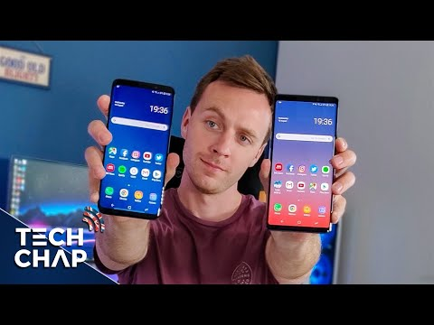 Samsung Galaxy Note 9 vs Galaxy S9 Plus - Which Should You Buy? | The Tech Chap