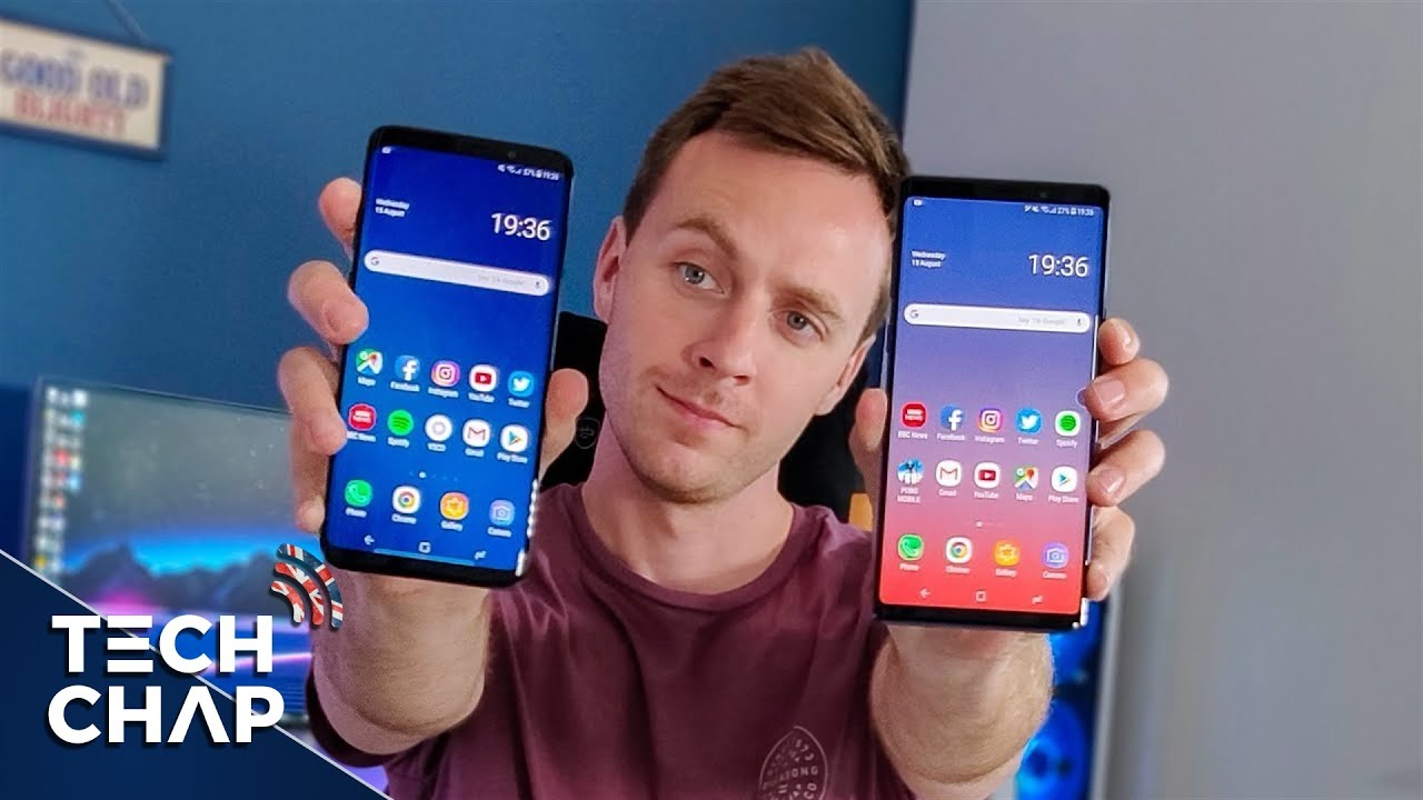 samsung s9 plus o note 9