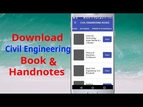 Civil Engineering Books Download | Handnotes PDF