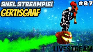 [GIG CLAN] SNEL STREAMPIE - GIVEAWAY! #87 Livestream Fortnite Battle Royale