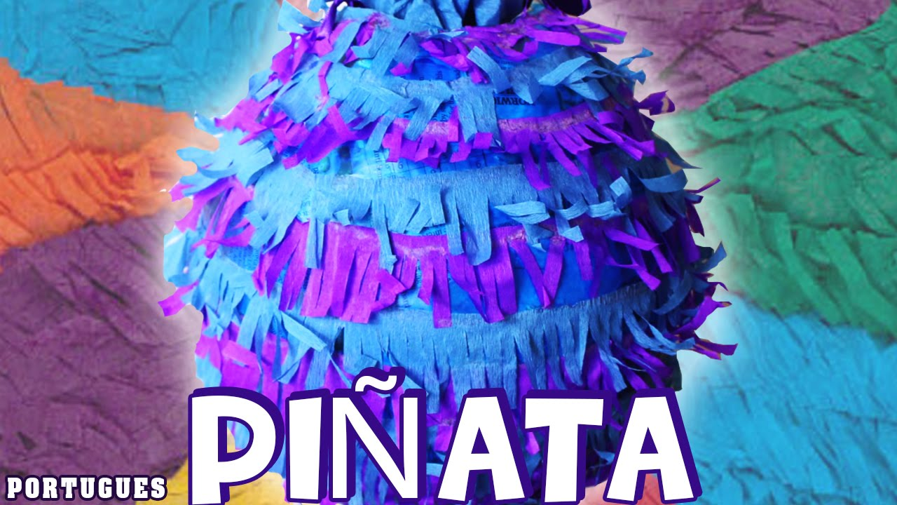 pi ata como fazer um pinata f cil pi ata in portugues artesanato para crian as youtube. Black Bedroom Furniture Sets. Home Design Ideas