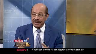 Entrevista al precandidato presidencial por el PLD, Temístocles Montás, en Enfoque Matinal