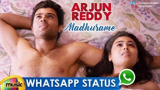 Best Romantic WhatsApp Status | Madhurame Song | Arjun Reddy | Vijay Deverakonda | Shalini Pandey