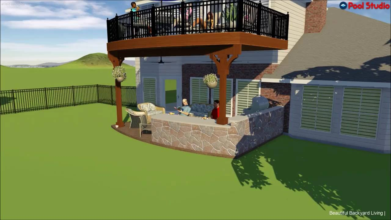 Balcony Custom Outdoor Kitchen Mckinney Tx Youtube