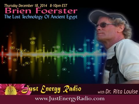 The Lost Technology Of Ancient Egypt - Brien Foerster
