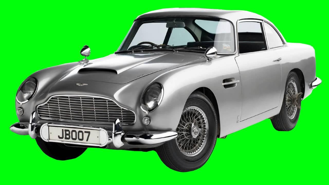 classic car in green screen free stock footage - YouTube