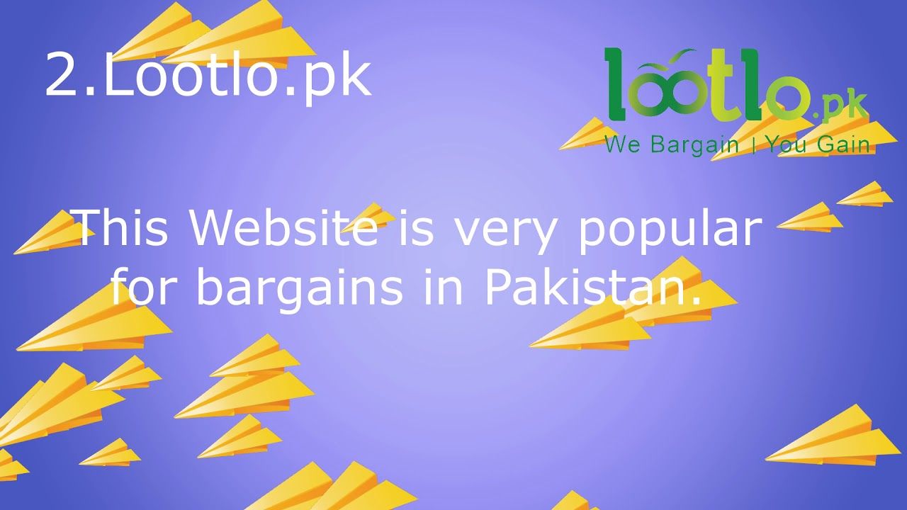08d3d621bce Top 10 Online Shopping Sites in Pakistan 2019 - YouTube