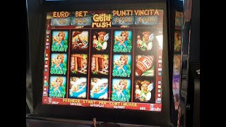 SLOT MACHINE DA BAR GOLD RUSH