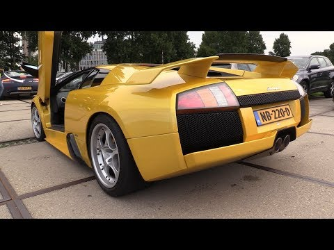 Lamborghini Murcielago V12 Exhaust Sounds
