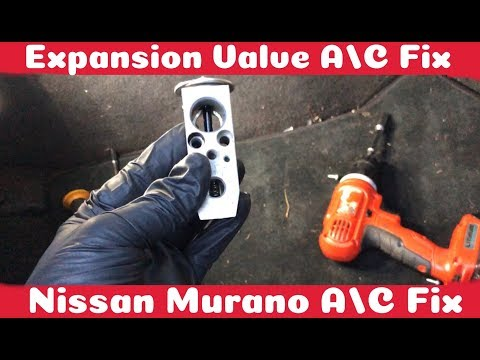 How To Fix A/C on a Nissan Murano 2003 – 2007 ( Expansion Valve ) DIY