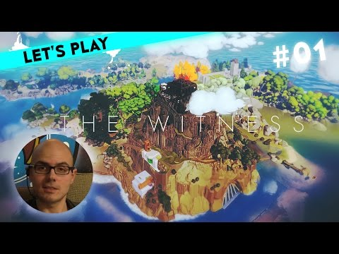 [1/3] Let's Play The Witness mit Gregor | Kabel verfolgen | 26.01.2016