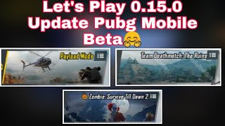 Pubg Mobile Beta 0.15.0 Update Live Streaming ! Show Support :- Paytm & PhonePe :- 9604719964