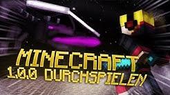 Minecraft DURCHSPIELEN aber in der ÄLTESTEN VERSION