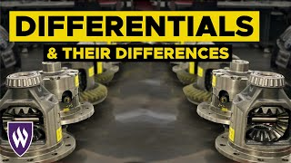 Understanding Differences in Automotive Differentials