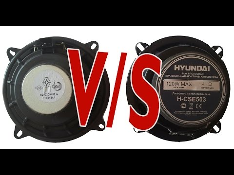 Звук в Лада Ларгус Hynday H-CSE503 VS  Renault