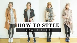 How To Style: Athleisure for Winter + LOOK BOOK thumbnail