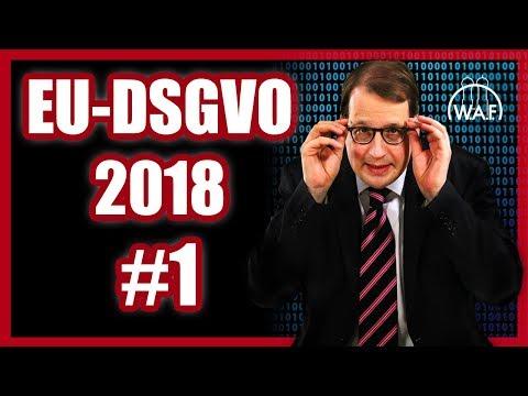 DSGVO 2018 einfach erklärt: Die neue EU-Datenschutzgrundverordnung | DSGVO for Absolute Beginners