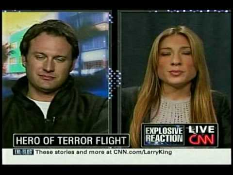 CNN interviews passenger who tackled Nigerian bomber