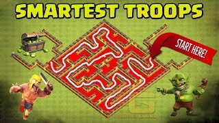 Clash Of Clans Maze Base Tournament | Who's the Smartest ? - Clash Of Clans