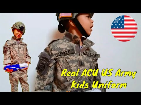 Real Kids Acu US Army Uniform