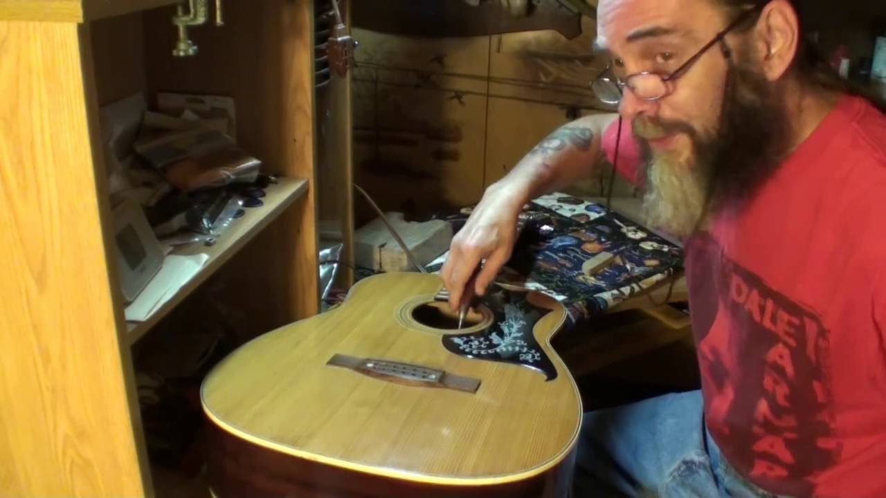 acoustic guitar brace repair telestar 12 string guitar youtube. Black Bedroom Furniture Sets. Home Design Ideas