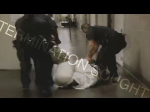 Jail officers fired after 'excessive force' videos