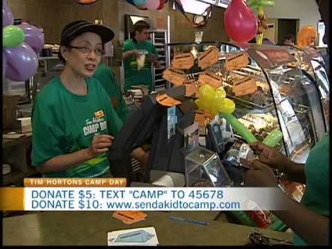 Tim Hortons Camp Day 1 - YouTube