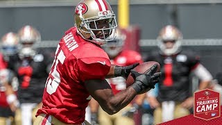Camp Highlight: Top Plays of 49ers Passing Game vs. Broncos