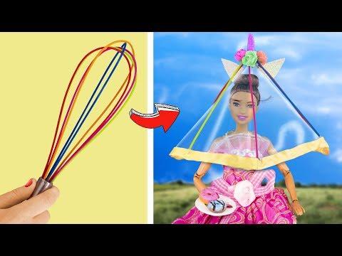 14 Bricolages Et DIY Licornes Pour Barbie