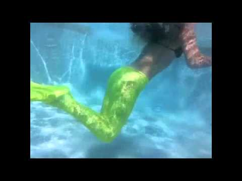 how to make a swimmable mermaid tail without sewing