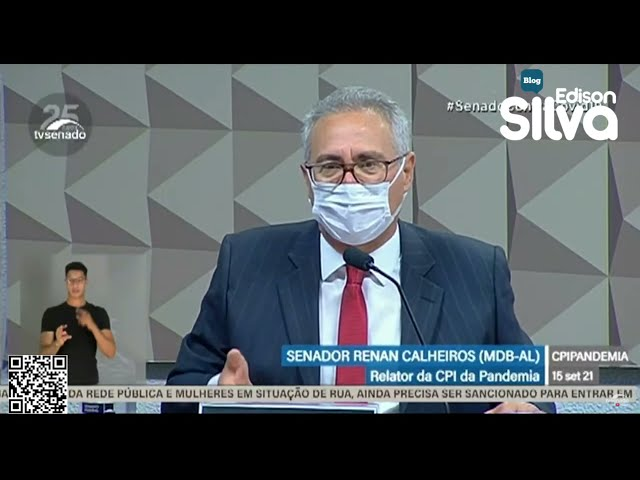 Renan Calheiros quer ter proposta de relatório pronto