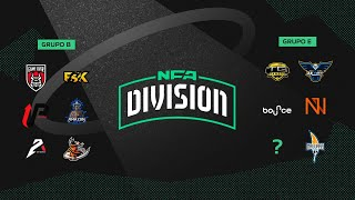 FREE FIRE - NFA DIVISION - GRUPO B x E - DIA 6 - #NFADIVISION