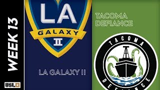 LA Galaxy II vs Tacoma Defiance: May 29th, 2019