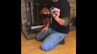 THAT OFF GRID GUY, TRUCK EXHAUST IN A FIREPLACE MODIFICATION