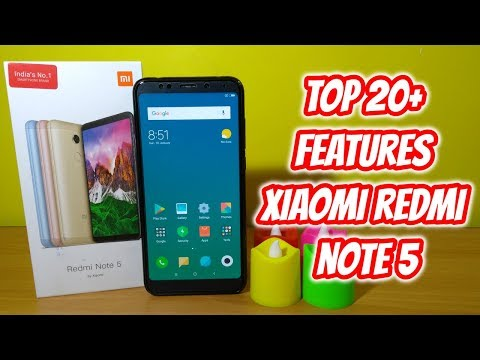 Redmi Note 5 Top 20+ Hidden Features , Advance Features , Best Features ! Tips & Tricks !! HINDI