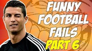 Śmieszne wpadki piłkarskie - funny football fails [pl] - part 6