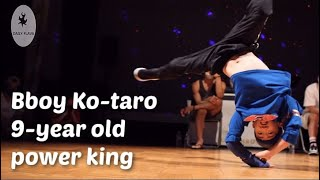 Bboy Ko-taro. 9-year old power mover with grown-up power. Full Throttle july 2021