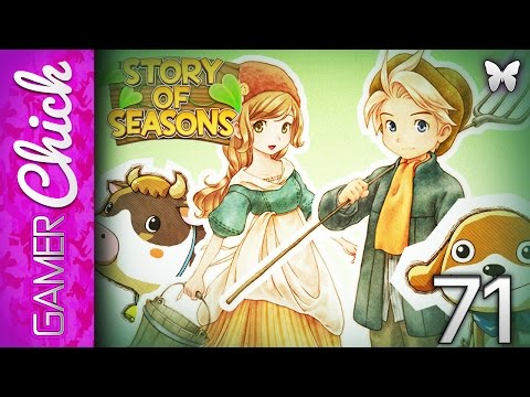 ❋ Story of Seasons - Gameplay/Walkthrough [Part 71 Wheat Country Merchant!] (3DS) w/GamerChick
