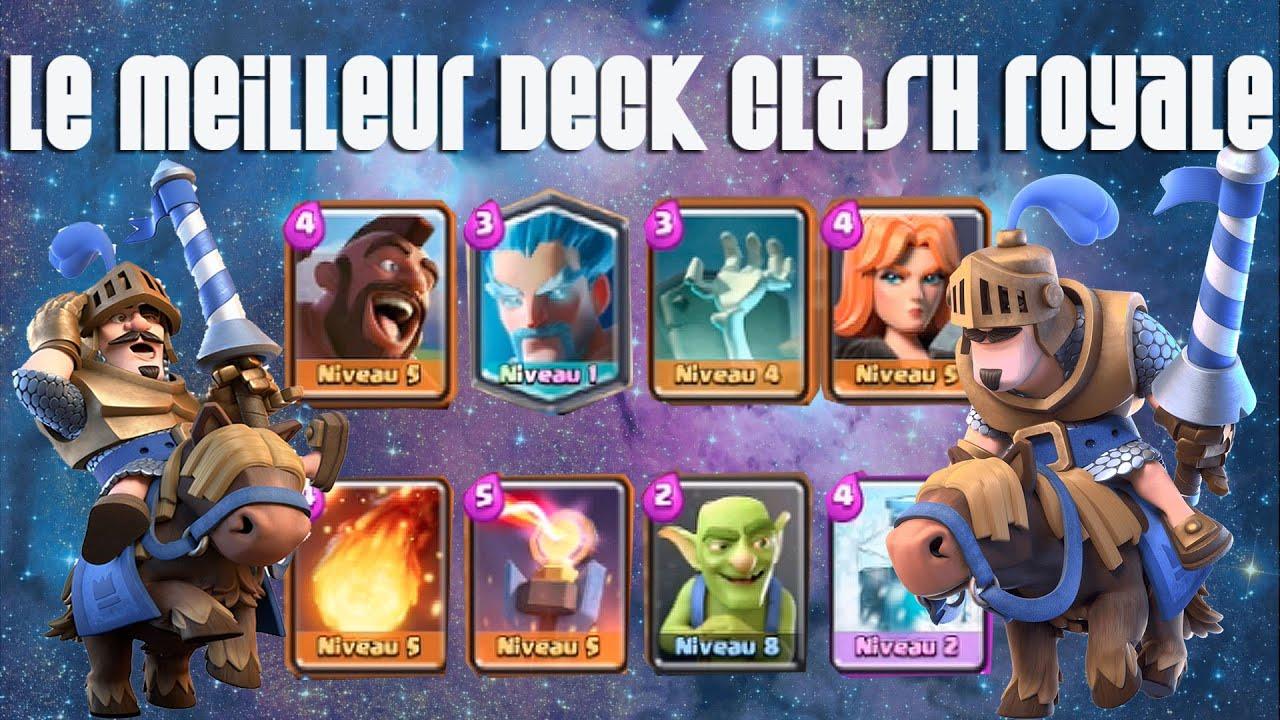 Clash royale le meilleur deck a partir d 39 arene 5 shilo for Deck arene 5 miroir