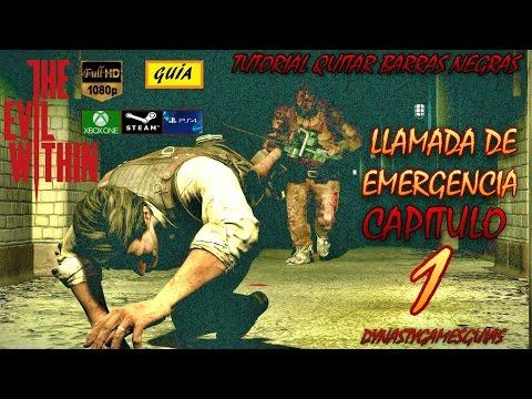 The Evil Within capítulo 1 Llamada de emergencia Guía 100% Español-Tutorial quitar BORDES NEGROS