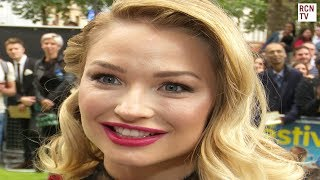 Emma Rigby Interview The Festival Premiere