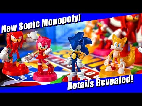 New Modern Sonic Monopoly Game Announced!