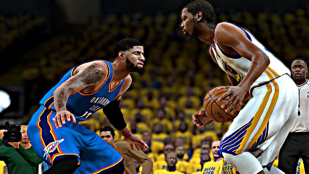 NBA 2K18 Rosters - Paul George vs Kevin Durant