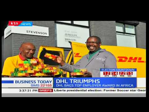 DHL express certified as the best employer in Africa