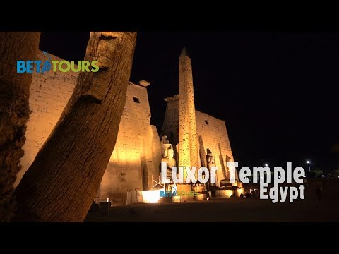 Luxor Temple, Egypt 4K travel guide bluemaxbg.com